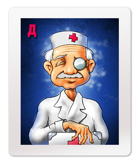 'Mafia' playing cards - Doctor by secondaid