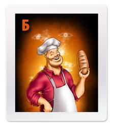 'Mafia' playing cards - Baker