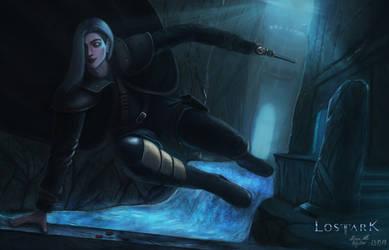 Lost Ark - Demon Hunter by MuteAllOnlyMeow