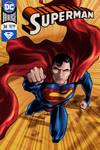 Superman cover fan art