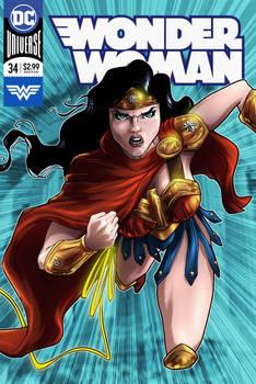 Wonder Woman cover fan art