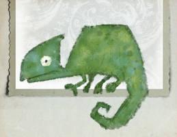 Day one Chameleon by moremonger