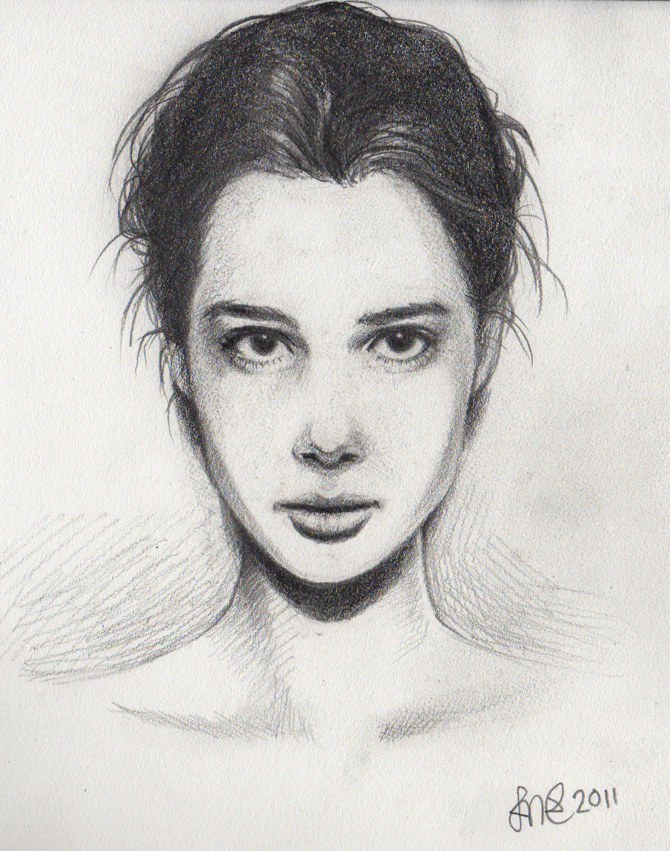 Anais Pouliot Portrait by Mischavie