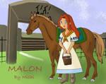Malon at Lon Lon Ranch