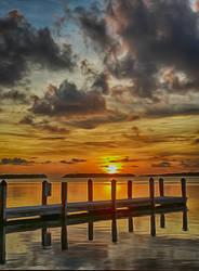 Sunset At The Keys.