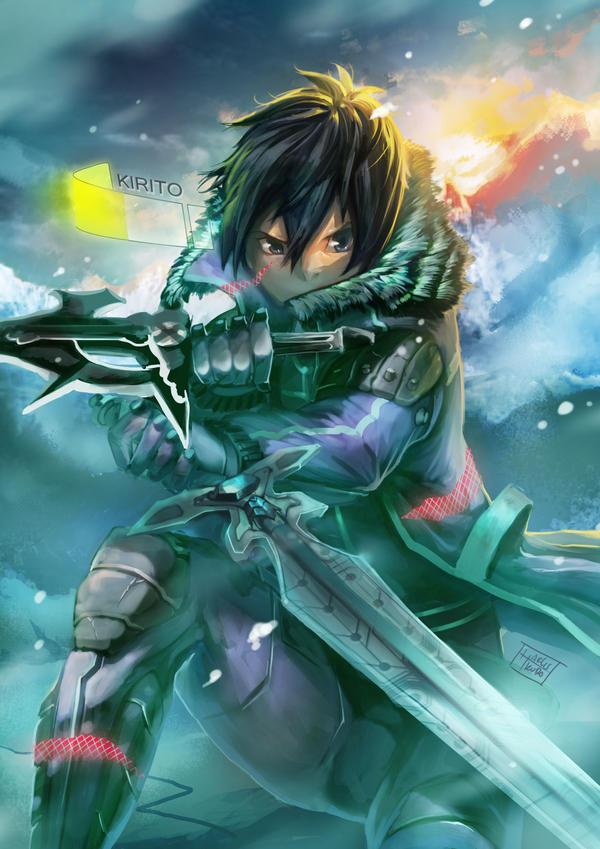 Sword Art Online : KIRITO by harliskudo