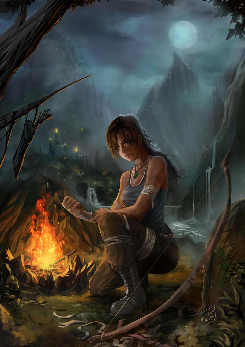 Lara croft by harliskudo