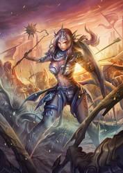 goddess commander by harliskudo