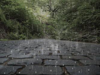 Awwh~ Cutesy Rain Scene by ciel-orageux