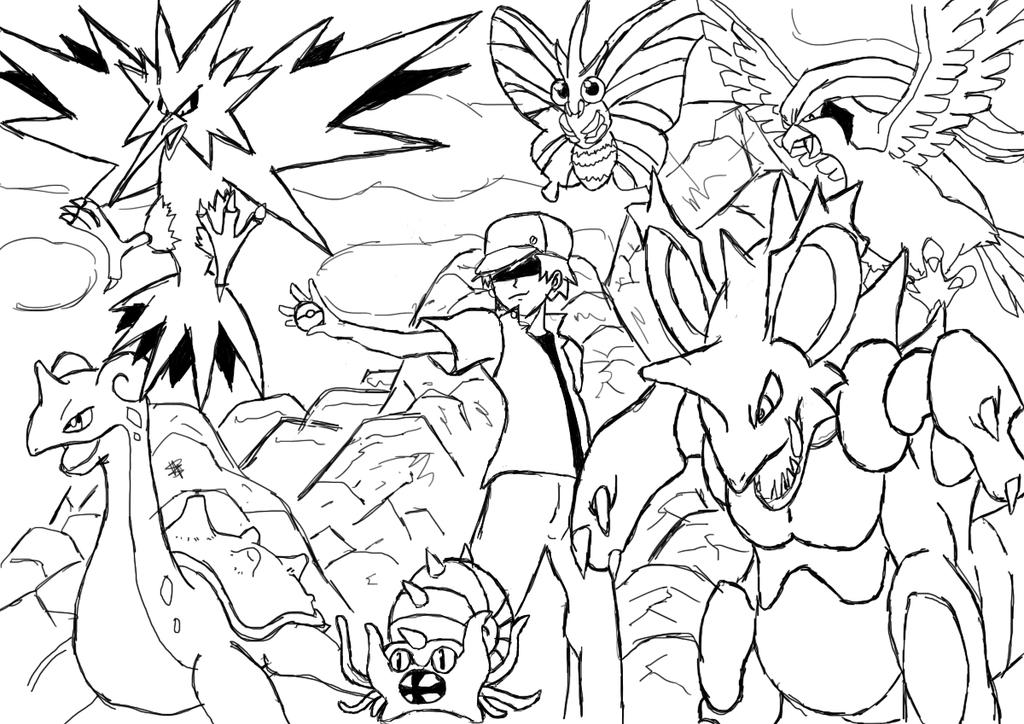 the team of twitch plays pokemon by igorpontes11