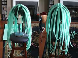 Envy's Wig Progress 1 by Xelhestiel