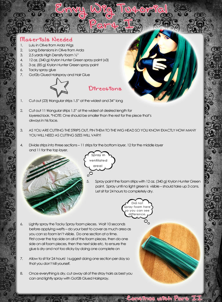 Envy Wig Tutorial Part I by x-Lady-Euphoria-x