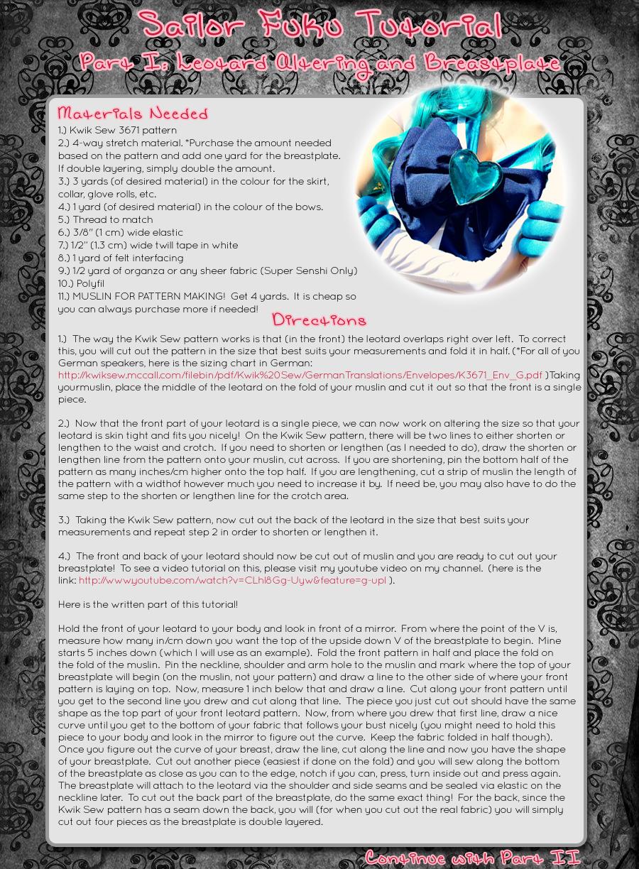 Sailor Fuku Tutorial Part I by Xelhestiel