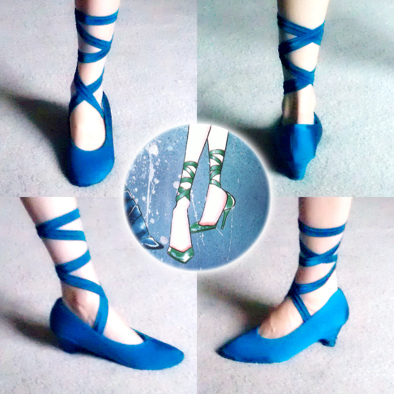Neptune Shoe Progress by Xelhestiel