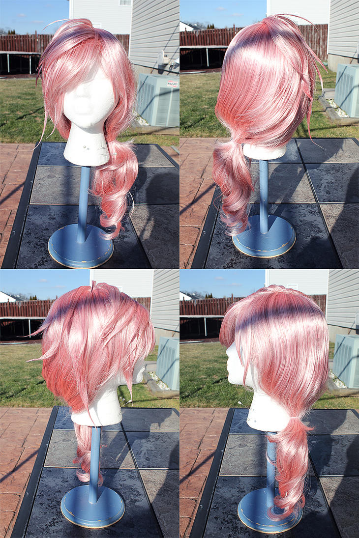 Lightning Farron Wig Commission - Outdoor by x-Lady-Euphoria-x