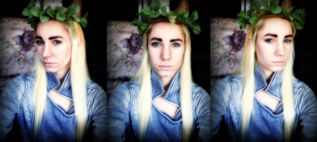 Thranduil Make-Up Test by x-Lady-Euphoria-x