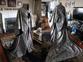 Thranduil Cosplay Robe and Cloak by Xelhestiel
