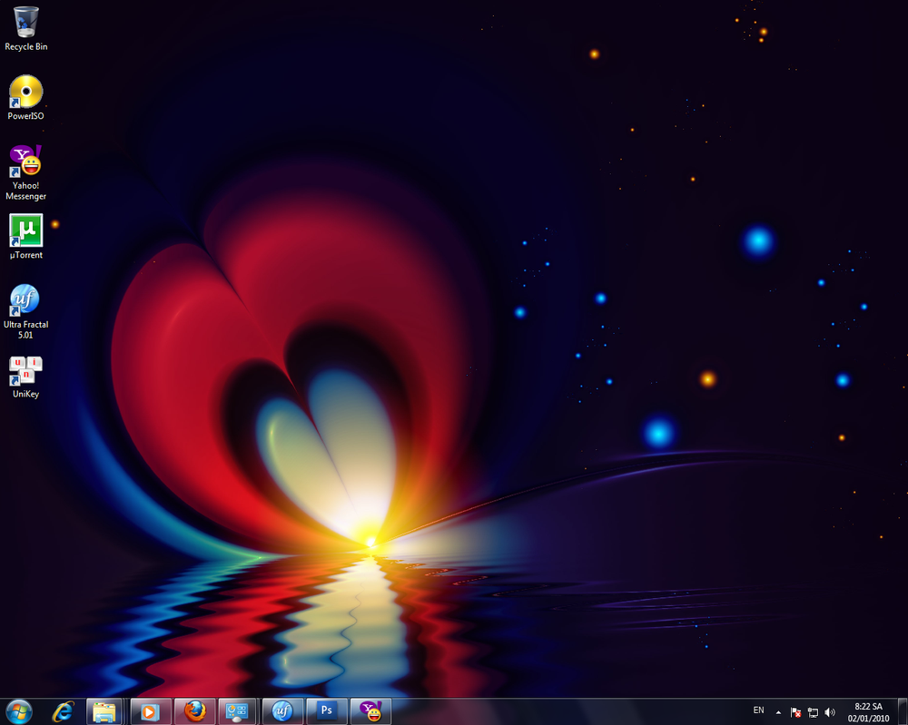 New Desktop by Kiug