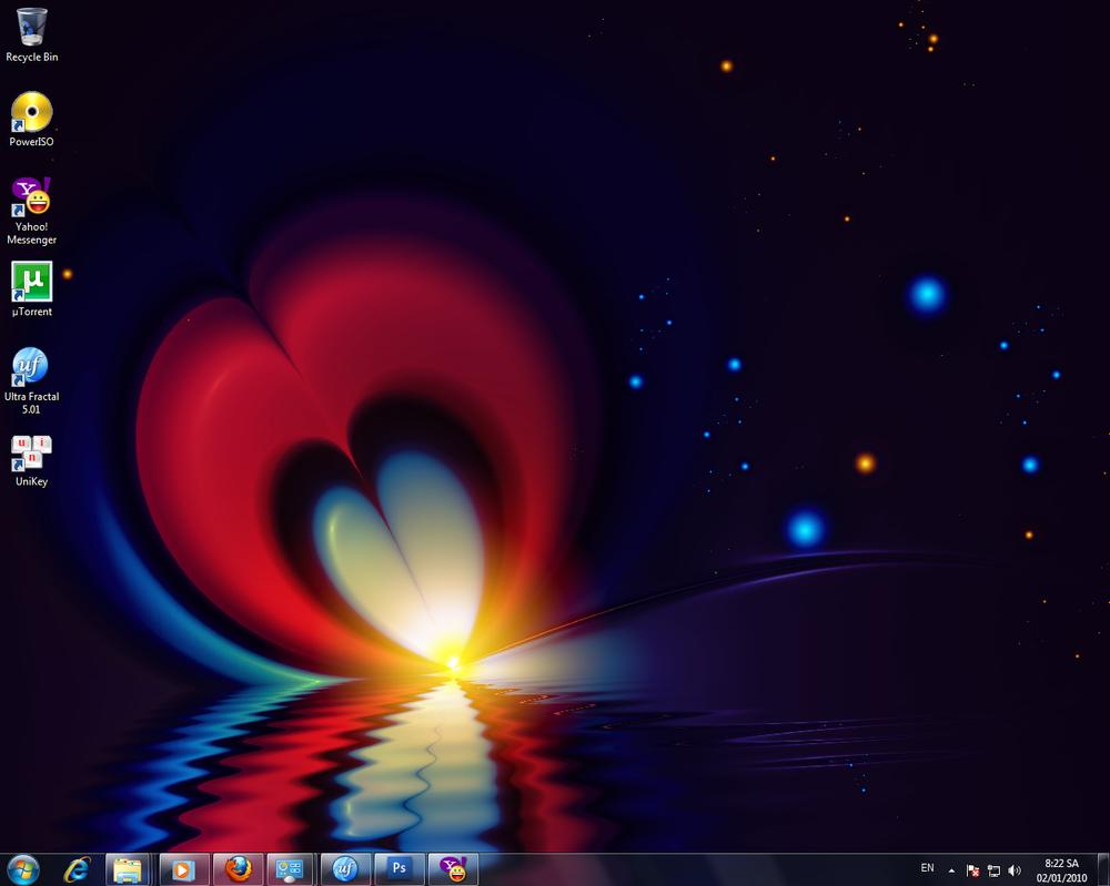 New Desktop by Kiug