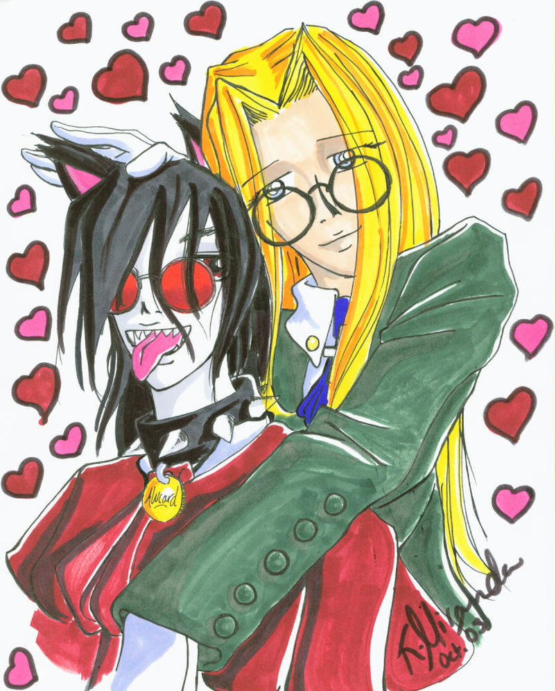 alucard and integra relationship test