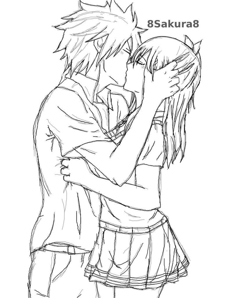 GrayLu Kiss By 8Sakura8 On DeviantArt