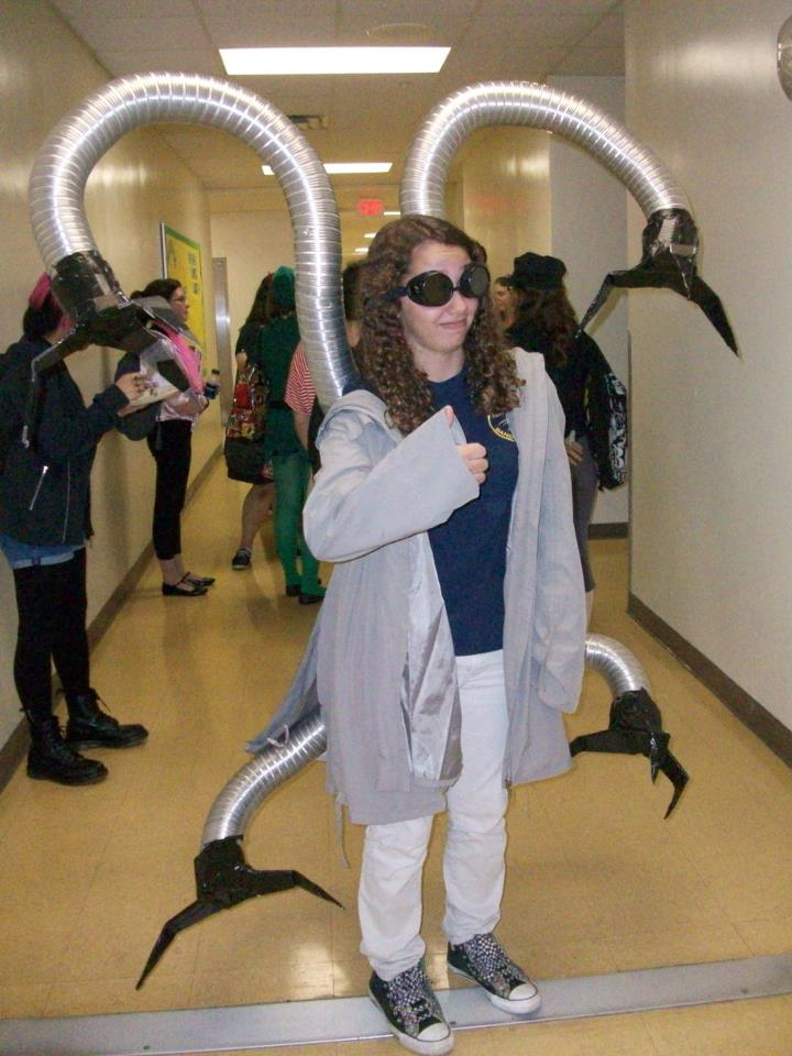 Doctor Octopus Costume by KazanthfromHeck on DeviantArt