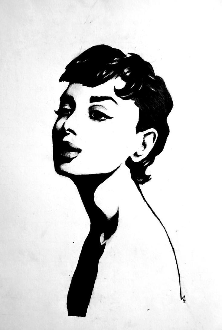 Audrey Hepburn by Dragon-963