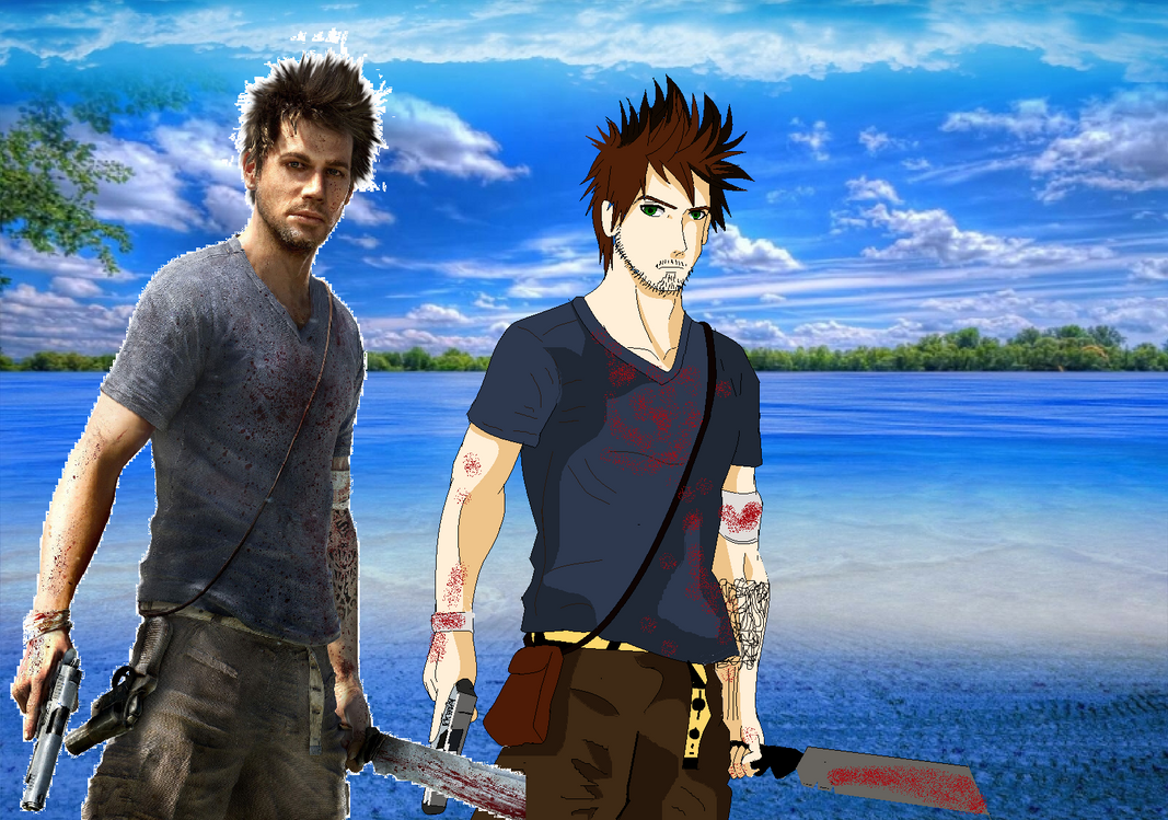 far cry 3 jason brody anime and film by djpaint96 on