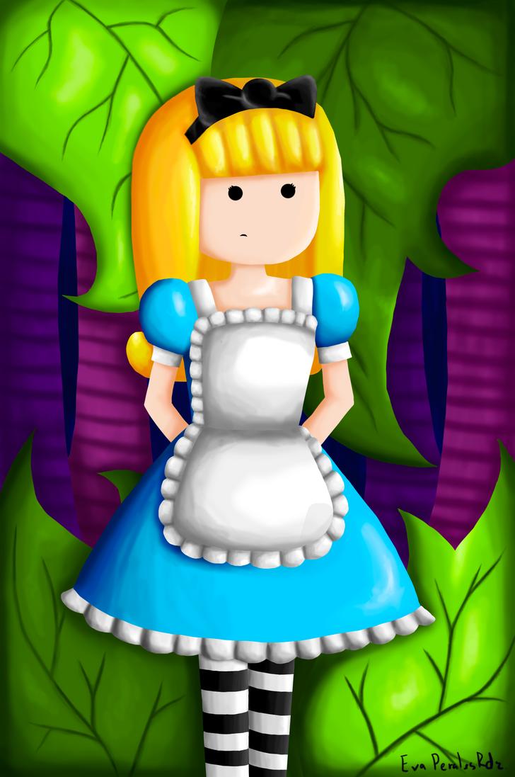 Alice in Wonderland by TremereGirl93