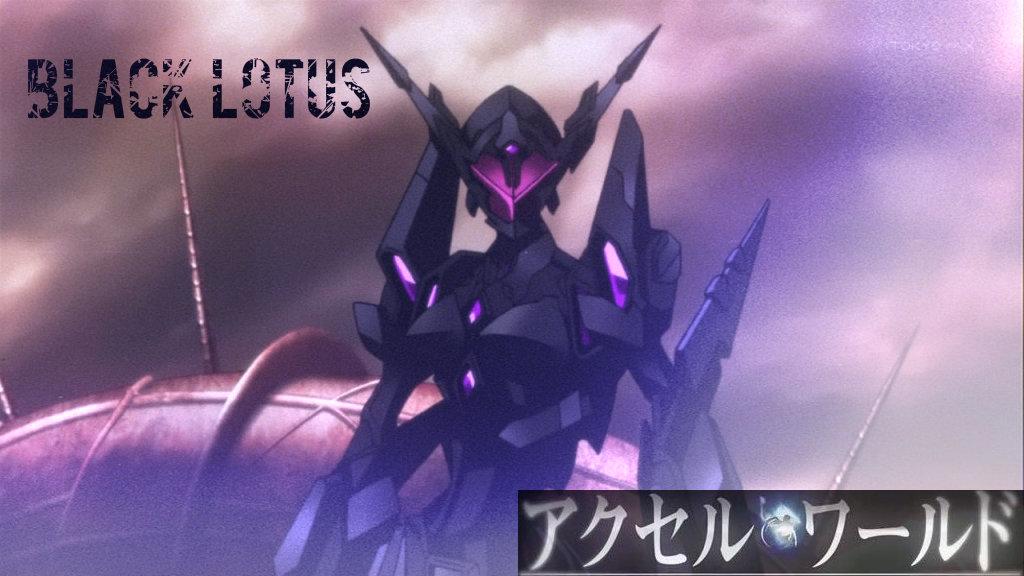 Black Lotus Accel World By Halokiller485