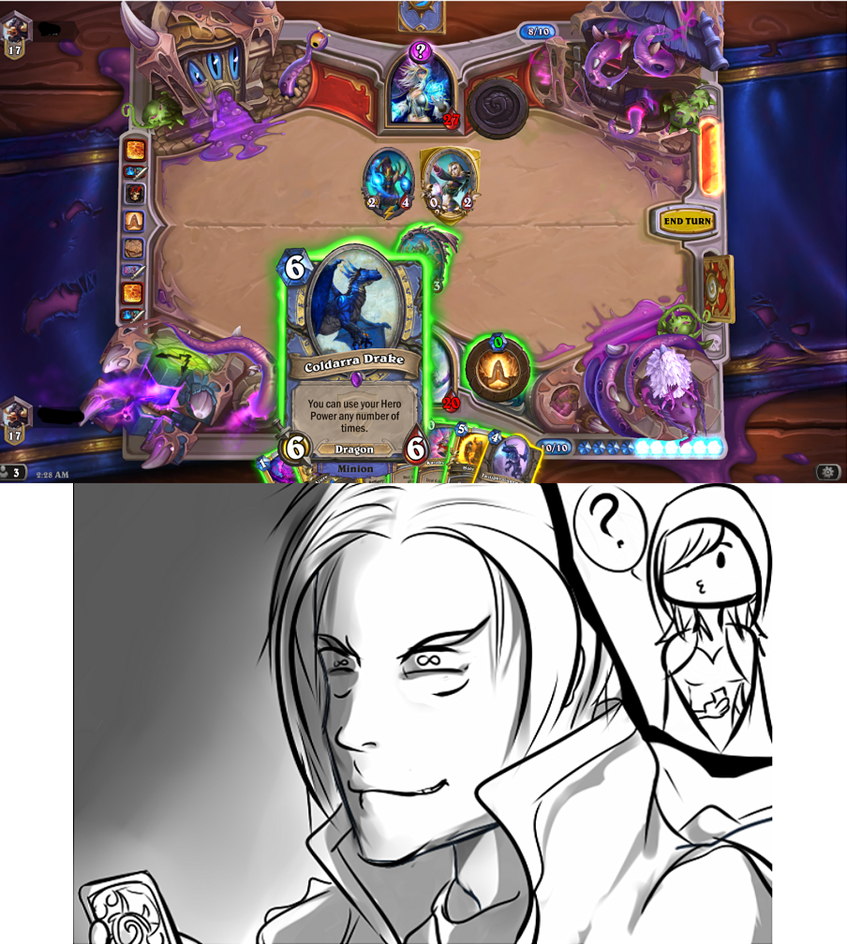 [Hearthstone] And now we wait. by Rhadakiel