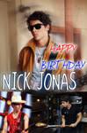 HAPPY 18TH BIRTHDAY NICK JONAS