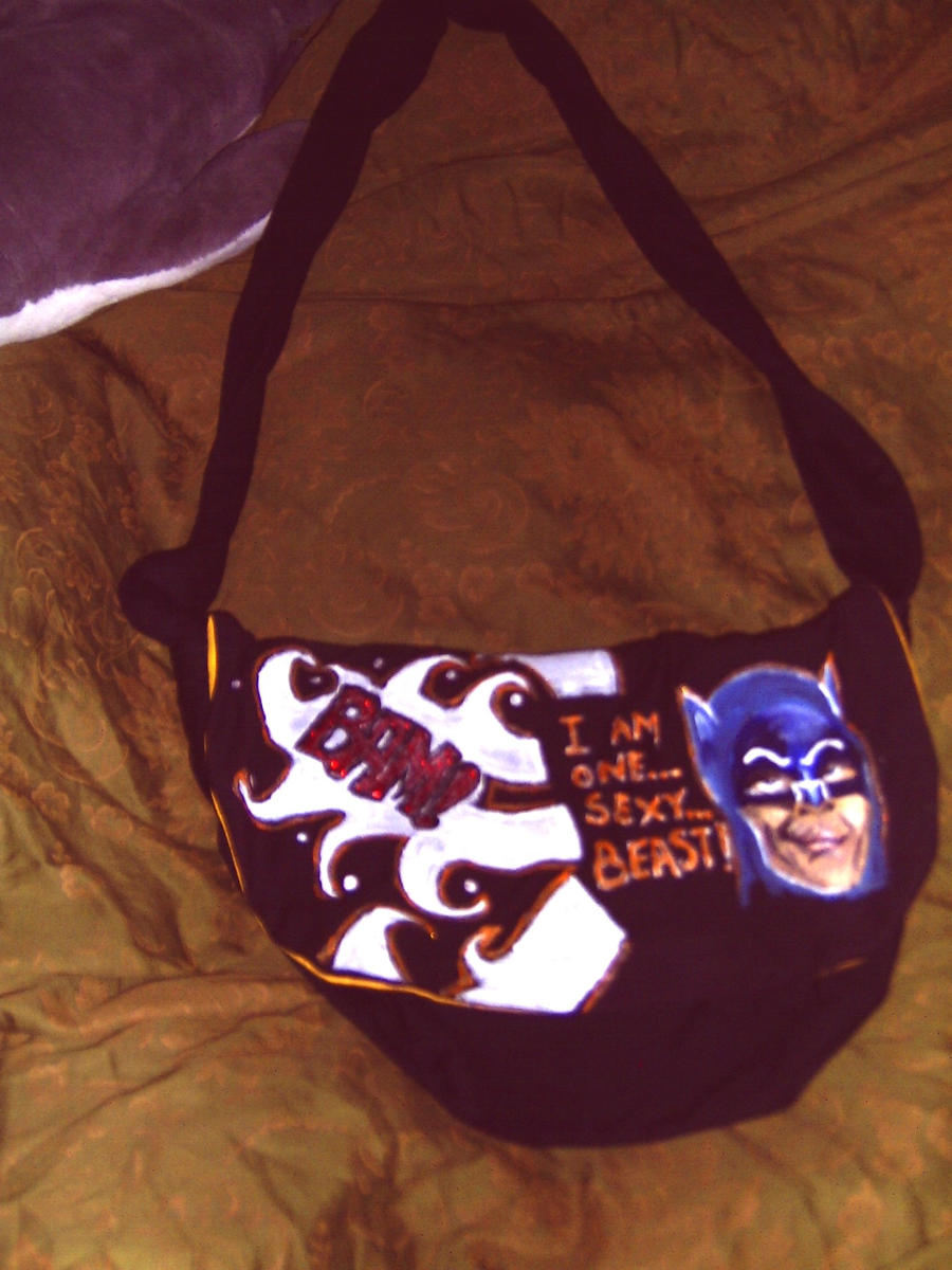 Sexy Beast Batman Purse by MissCreepers