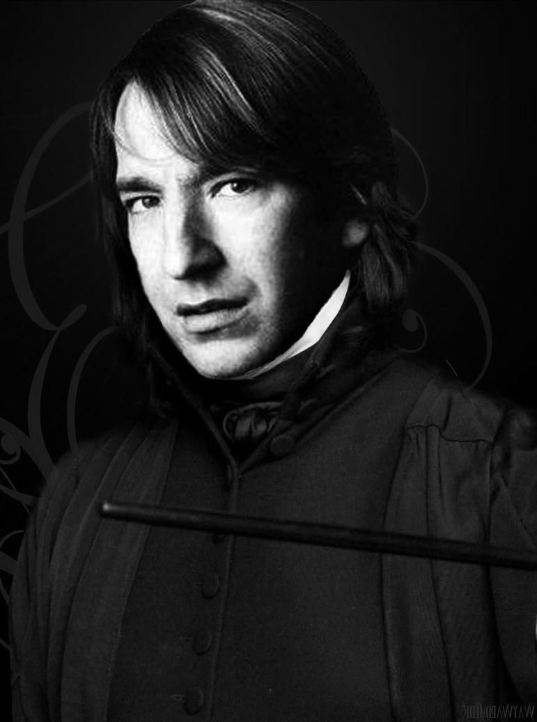 A photo of a young Alan Rickmanor a young Snape. | Алан