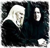 Severus Lucius at Malfoy's by lolapuka