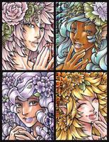 Quart Pint: floral mix by dizziness