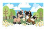 half pint - Horses 02