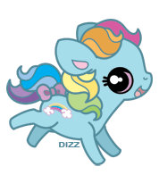 MLP - G3 Rainbow Dash by dizziness