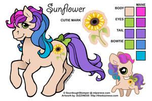 Ponysona: Sunflower by dizziness