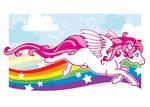 Print: Pink Pegasus