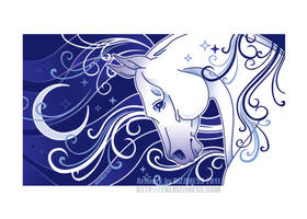 Print: Mare on the Moon by dizziness