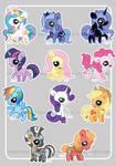 Pudgy Pony - FiM cuties