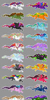 Prancing Ponies - Galore by dizziness