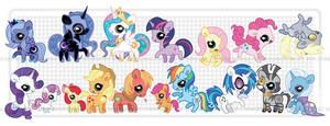 Pudgy Pony - MLP:FiM FIN