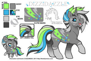 Ponysona: DiZZiDAZZLE by dizziness