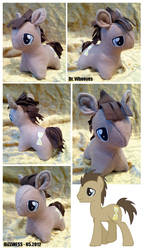 Because I was bored - plushie by dizziness