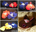 Goldfish plushies part 01