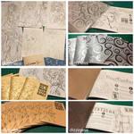 2014-2015 Current (hand-made) Art Books