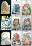 Conbadges from 2014 - part01