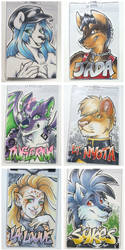 Conbadges from 2015 - part01